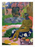 Vairaumati Tei Oa (Her Name is Vairaumati), 1892 Giclee Print by Paul Gauguin