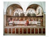 Den sidste nadver Giclée-tryk af Domenico Ghirlandaio