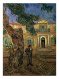 St. Paul's Hospital, St Remy, 1889 Giclee Print by Vincent van Gogh