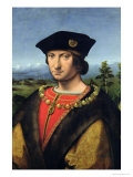 Portrait of Charles D'Amboise (1471-1511) Marshal of France Giclee Print by Antonio da Solario