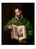 St. Luke Giclee Print by  El Greco