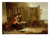 The Morning Catch Giclee Print by Alexander Fraser Jr.