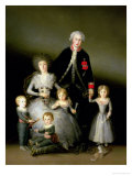 The Duke of Osuna and His Family, 1788 Premium Giclee Print by Francisco de Goya