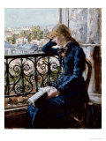 At the Window, 1881 Giclee Print by Hans Olaf Heyerdahl