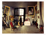 The Artist's Studio, 1870 Giclee Print by Frederic Bazille