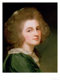 Portrait of Ann Barbara Russell Giclee Print by George Romney