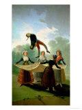El Pelele (The Puppet) 1791-2 Giclee Print by Francisco de Goya