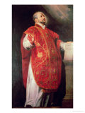 St. Ignatius of Loyola (1491-1556) Founder of the Jesuits Reproduction proc&#233;d&#233; gicl&#233;e par Peter Paul Rubens