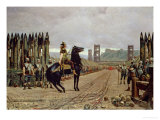 Vercingetorix (72-46 BC) Before Caesar, 52 BC, 1886 Giclee Print by Henri-Paul Motte