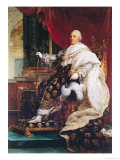 Louis XVIII (1755-1824) Giclee Print by Francois Gerard