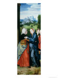 The Visitation Giclee Print by Bartholomaeus Bruyn