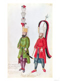Persian Janissaries, 1513 Giclee Print