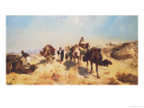 Crossing the Desert Giclee Print by Jean-Léon Gérôme