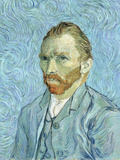 Self Portrait, 1889 Premium Giclee Print by Vincent van Gogh