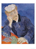 Dr. Paul Gachet, c.1890 Gicle-tryk af Vincent van Gogh