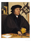 Portrait of Nicholas Kratzer (1487-circa 1550) 1528 Giclee Print by Hans Holbein the Younger