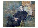 Paul Leclercq (1872-1956) 1897 Giclee Print by Henri de Toulouse-Lautrec