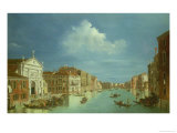 Venetian View (One of a Pair) Giclee Print by William James