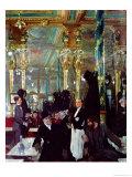 Cafe Royal, London, 1912 Gicleetryck av Sir William Orpen
