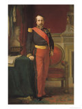 Portrait of Napoleon III (1808-73) 1862 Giclee Print by Hippolyte Flandrin