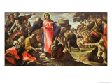 The Multiplication of the Loaves and Fishes, 1620-5 Giclee Print by Giovanni Lanfranco