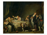 The Punished Son, 1778 Giclee Print by Jean-Baptiste Greuze