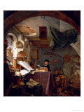 The Alchemist Premium Giclee Print by Thomas Wyck