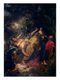 The Arrest of Christ in the Gardens, circa 1628-30 Reproduction proc&#233;d&#233; gicl&#233;e par Sir Anthony Van Dyck