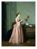 The Love Letter Giclee Print by Jean Carolus