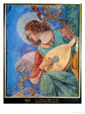 Angel Musician Gicle-tryk af Melozzo da Forl