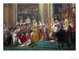 The Consecration of the Emperor Napoleon (1769-1821) and the Coronation of the Empress Josephine Giclee Print by Jacques-Louis David