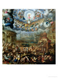 The Last Judgement Giclee Print by Jean Cousin the Younger