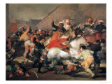 The Second of May, 1808. the Riot Against the Mameluke Mercenaries, 1814 Reproduction procédé giclée par Francisco de Goya