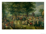 The Wedding Banquet Giclee Print by Jan Brueghel the Elder