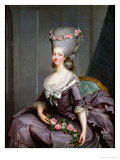 Marie-Therese De Savoie-Carignan (1749-92) Princess of Lamballe Giclee Print by Antoine Francois Callet