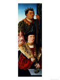 St. Maurice (Left Panel of a Triptych) Giclee Print by Bartholomaeus Bruyn