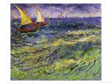 Seascape at Saintes-Maries, c.1888 Giclée-Druck von Vincent van Gogh