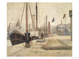 La Maria at Honfleur, 1886 Giclee Print by Georges Seurat