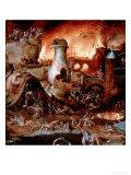 Hieronymus Bosch - Hell - Giclee Baskı