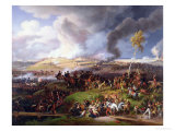 Battle of Moscow, 7th September 1812, 1822 Reproduction procédé giclée par Louis Lejeune