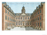 The Royal College of Physicians Giclee Print by Robert Morden