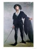Jean Baptiste Faure (1830-1914) as Hamlet, 1877 Giclee Print by Édouard Manet