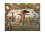 God Creating the Earth Giclee Print by  Raphael