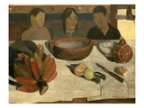 The Meal (The Bananas), 1891 Giclee Print by Paul Gauguin