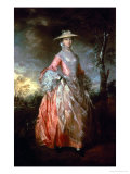Mary, Countess Howe, circa 1763-4 Giclee Print by Thomas Gainsborough