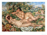 The Bathers, circa 1918-19 Giclee Print by Pierre-Auguste Renoir
