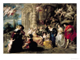 The Garden of Love, circa 1630-32 Giclee Print by Peter Paul Rubens