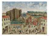 The Siege of the Bastille, 1789 Giclee Print by Claude Cholat