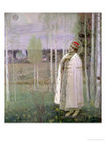 Tsarevich Dimitry, Son of the Assassinated Tsar Nicholas Giclee Print by Mikhail Vasilievich Nesterov
