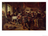 Wedding Party Giclee Print by Jan Havicksz. Steen